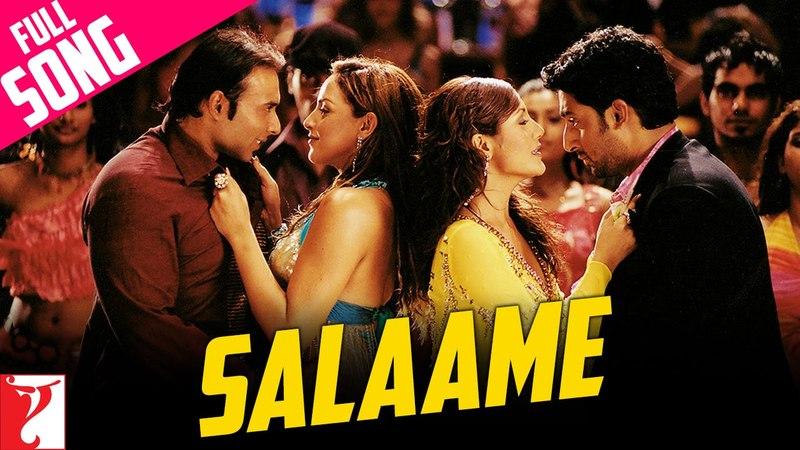 Salaame Full Song Dhoom Abhishek Bachchan Uday Chopra John Abraham Esha Deol Rimi Sen
