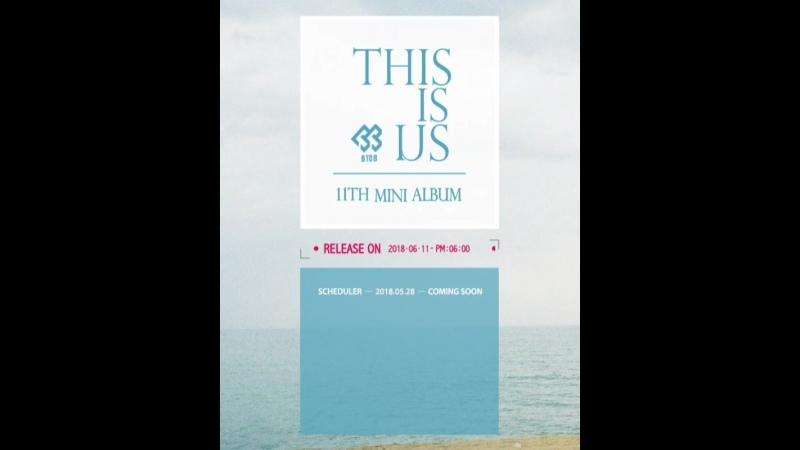 Тизер к новому мини-альбому BTOB 'This is Us'