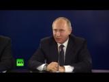Путин пошутил про свой график после выборов президента России в 2018 году