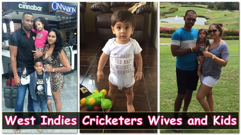 Top 5 Famous West Indies Cricketers With Their Beautiful Wives and Cute Kids