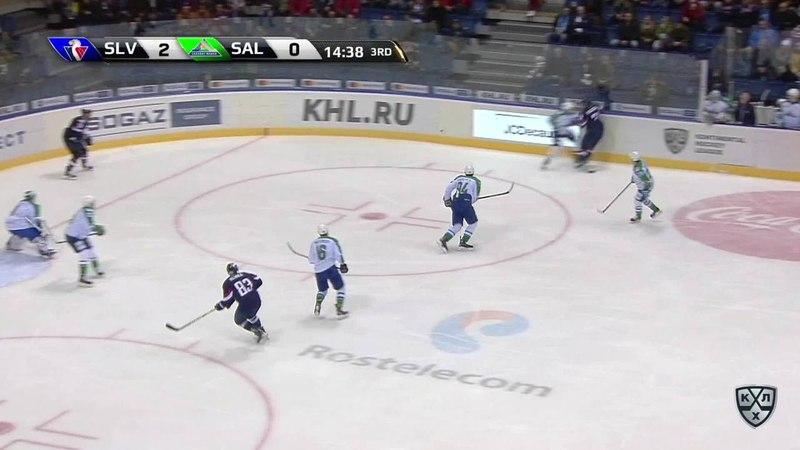 Моменты из матчей КХЛ сезона 17 18 • Гол 3 0 Чичу Джонатан Слован оформляет дубль забросив шайбу в ворота сопернкиа 20 12