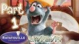 Ratatouille Walkthrough Part 1 The Movie Game (PS2, Wii, XBOX, Gamecube)
