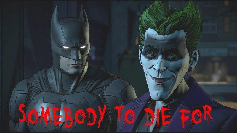 Telltale Batman - John Doe / Joker - Somebody to Die for (Tribute/Gmv)