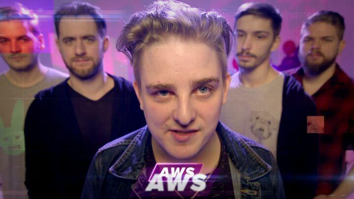"""A Dal 2018 on Instagram: """"Az AWS zenekarral is találkozhattok ma este A Dal színpadán! Egy igazán ütős számmal készülnek a fiúk!😉🤗🎤😍😊😁🎸🎶💜😄 adal201..."""