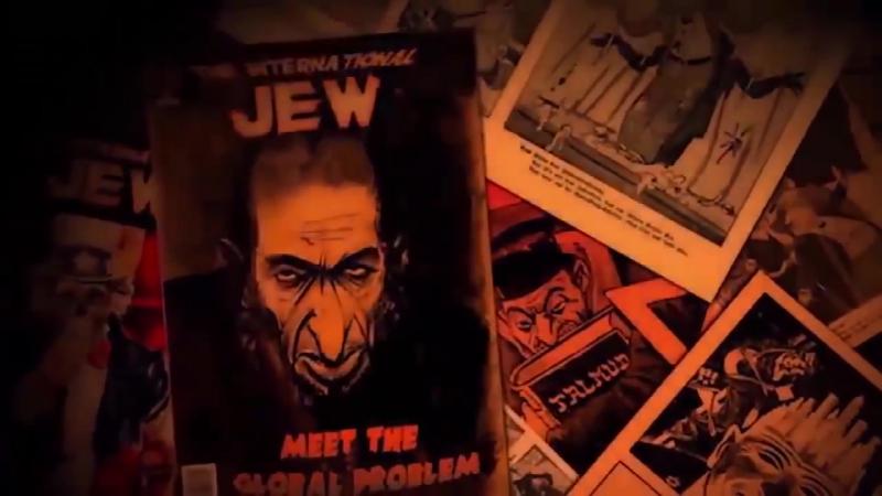 Уильям Пирс - Геноцид белой расы Жидами.Смерть всем Жидам !