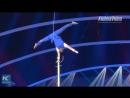 Шестовая акробатика на IV Международном цирковом фестивале в городе Чжухай провинции Гуандун