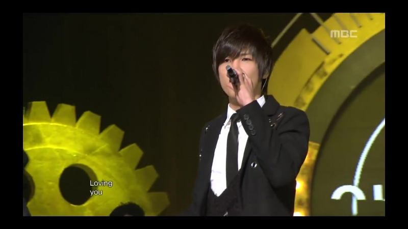 Oh, Won-bin - I love you, I love you Again, 오원빈 - 사랑해 또 사랑해, Music Core 2010111