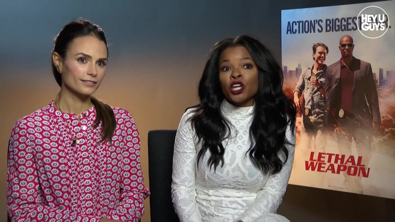 Jordana Brewster Keesha Sharp - Lethal Weapon TV Show Exclusive Interview