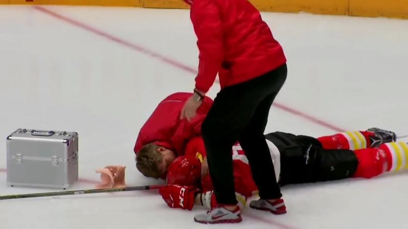 Рыспаев нокаутировал всех Барыс - Рэд Стар. 2016