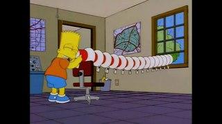 Барт экспериментирует с мегафонами
