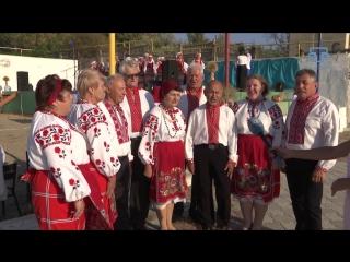 Под Симферополем провели украинский праздник сбора урожая Обжинки 2017