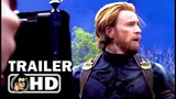 AVENGERS INFINITY WAR B-Roll Footage Trailer IMAX (2018) Marvel Superhero Movie HD