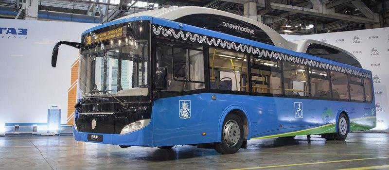 Группа ГАЗ представила новый электробус с ультрабыстрой зарядкой