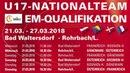 27.03.2018 | UEFA U17 EM | Österreich - Frankreich