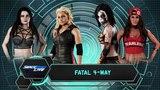SBW SmackDown - Trish Stratus vs Rosemary vs Paige vs Nikki Bella