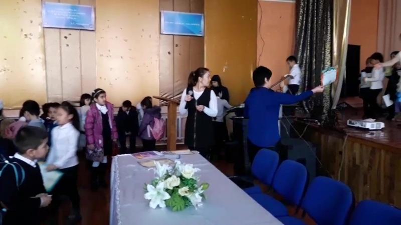 Мадинашымның вручениесі Астанакүніне арналған апталықта қатысқан Олимпиадасына алған грамотасы