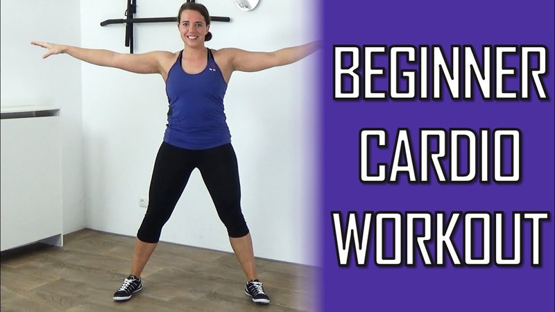 20 Minute Cardio Workout for Beginners – Beginner Cardio Workout – No Equipment