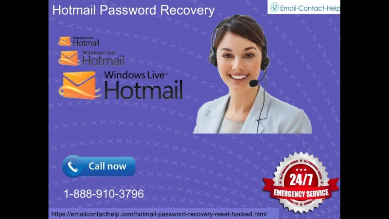 Don't have access to alternate email and have lost your phone number linked with Hotmail Password Recovery 1-888-910-3796 either