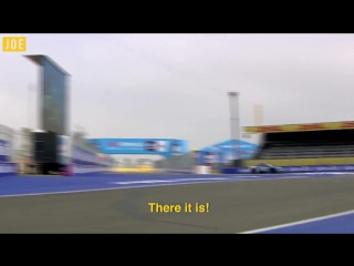 A lap around the Circuit Moulay El Hassan in the BMW i8