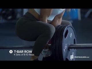 Cassandra Martins, Тяжелая треня на спину\Heavy Back Workout #pechory_acpro_voyage
