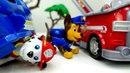 Vidéo de la Pat'Patrouille - jouets Chase Marshall : changement du travail