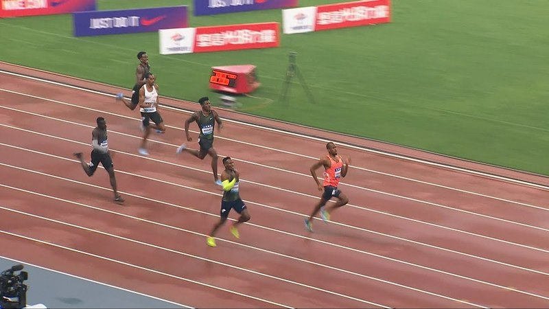 Men's 400m - Shanghai Diamond League 2018 [1080p 50fps]