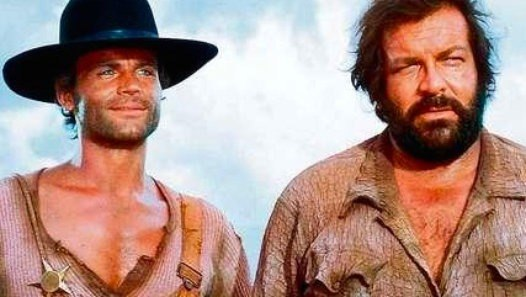 Le SeguÍan Llamando Trinidad ( 1971) Terence Hill, Bud Spencer. en Espanol. - Video Dailymotion