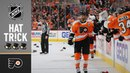 Claude Giroux notches 100th point en route to first hat trick