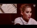 Дженнифер Лоуренс проходит тест на детекторе лжи для Vanity Fair
