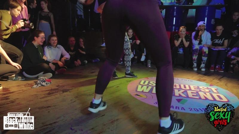 18 DANCEHALL FEMALE OSHA vs ПОТАНЦЕВА USG GUEST WEEKEND