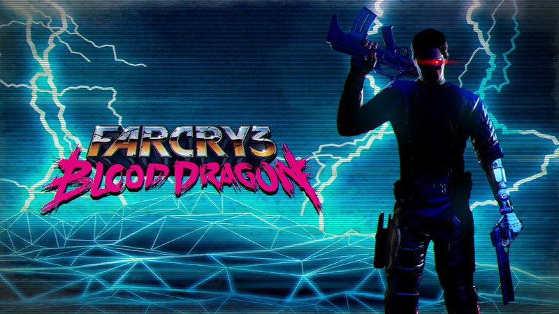 Схватил драконов за яйца FC3 Blood Dragon №3