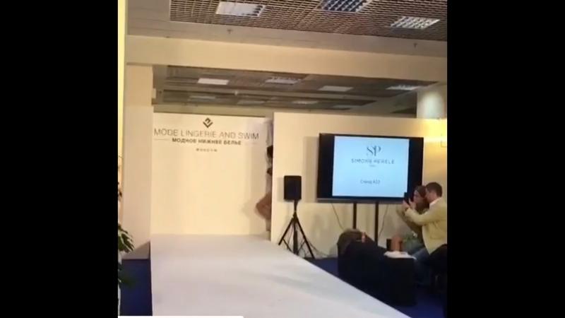 Красное и Черное. CPM.2018 Москва. Выставка белья на международном уровне. Показ белья. 🌸