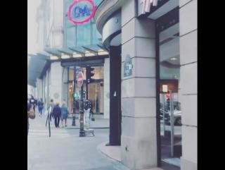 #유럽여행#프랑스#파리#쇼핑거리#쇼핑하는날#다들멋있다#패션왕들#신나요#줌마여행#나홀로여행... Париж 18.09.2017