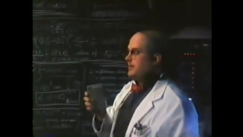 Harry S. Robins, the voice of Half-Life 2's Dr. Kleiner, as mad scientist Nathan Wingate in the movie Kamillions. halflife