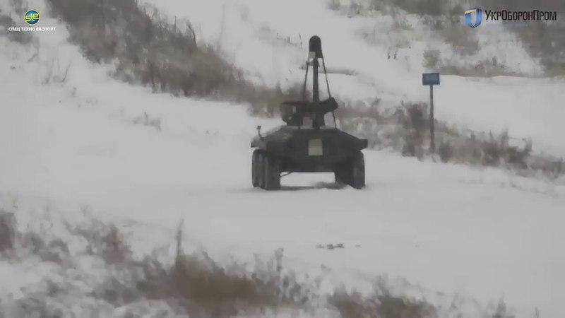 БТР безпілотник ФАНТОМ веде вогонь у складних метеоумовах