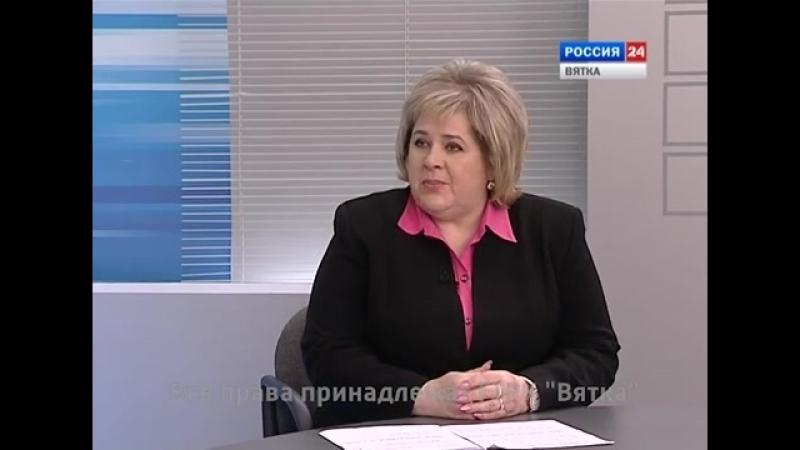 Интервью с Галиной Метелёвой, председателем Кировского совета ветеранов (17.02.2018)(ГТРК Вятка)