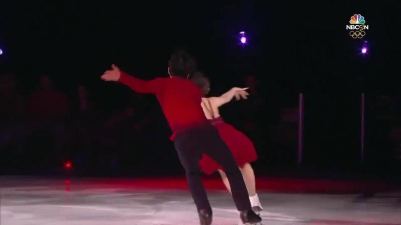 Maia and Alex Shibutani SOI 2018