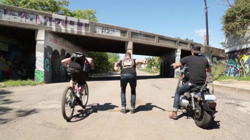 Ебайк против мотоцикла