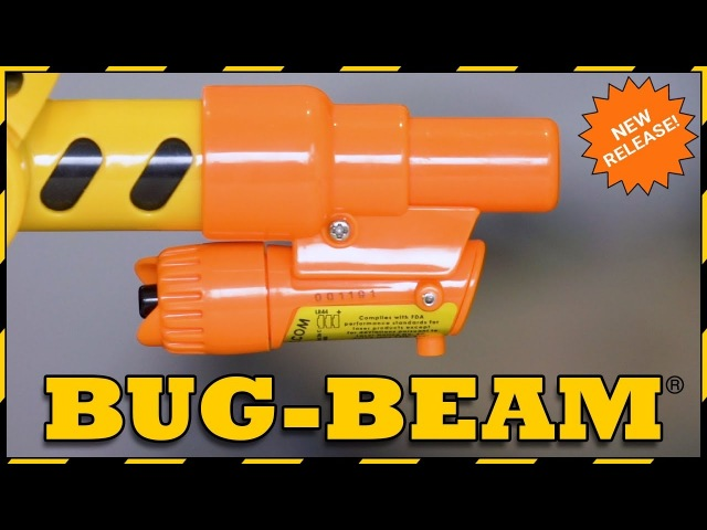 New! Bug-Beam Laser from Bug-A-Salt!