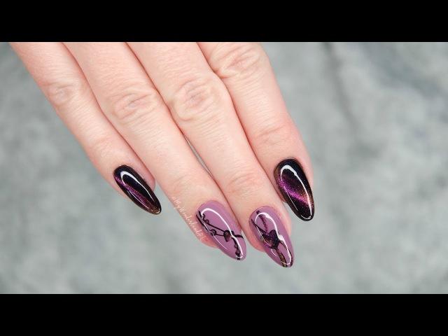 Manicure na Walentynki: Cat Eye 5D NeoNail || My Wonderland