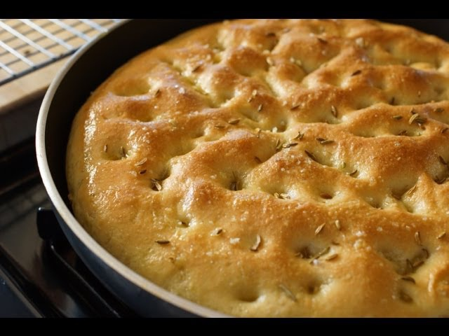 Focaccia Taste of Italy Bruno Albouze THE REAL DEAL