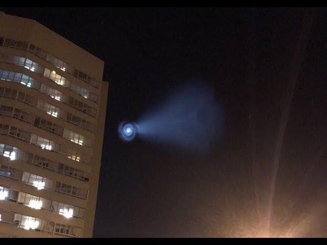 Неопознанный объект над Россией. НЛО РС-12М Тополь / An unidentified object over Russia. UFO