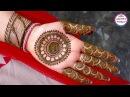 Simple Arabic Henna | Gol Tikki | 3D Henna Tattoo Designs | Mehndi Mandala by Jyoti Sachdeva .