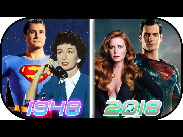 EVOLUTION of Lois Lane in Movies TV (1948-2018) Lois Lane Clark Kent Superman History