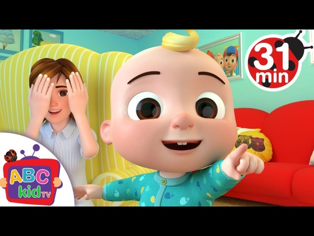 Peek a Boo Song More Nursery Rhymes Kids Songs Cocomelon ABCkidTV