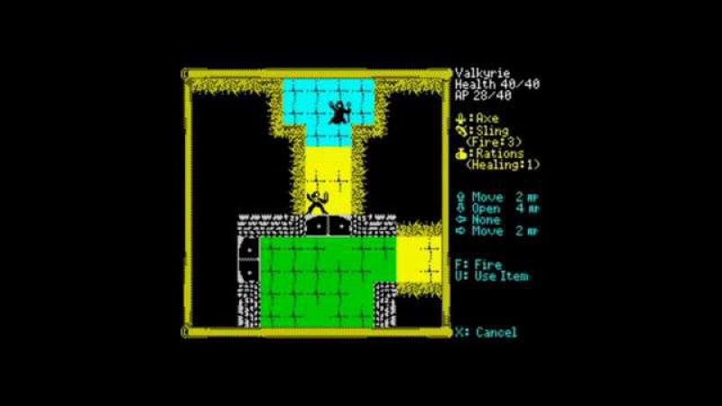 Descending Dungeons 2016 Walkthrough ZX Spectrum