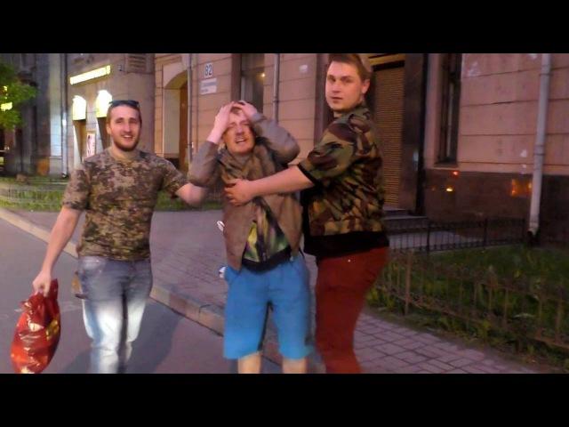 Приключения бухого VJlinka за день до съемок в СПБ