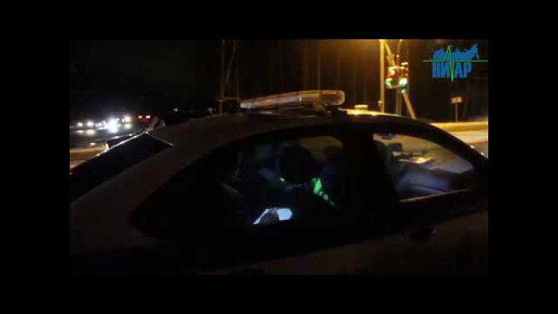 «Мёртвая зона» отправила два автомобиля на ремонт в Кингисеппском районе