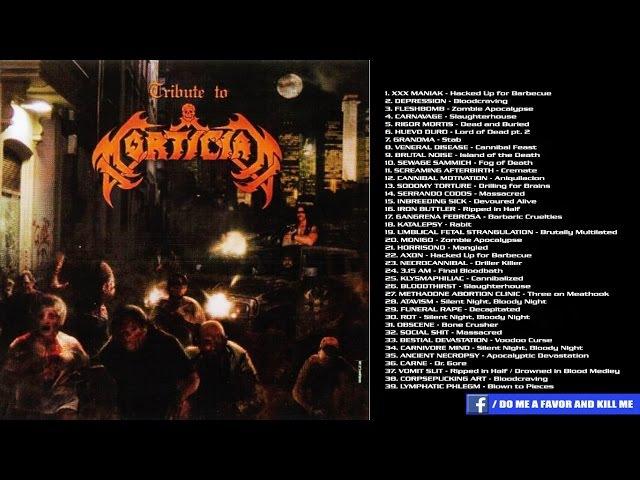 V.A. - Tribute To Mortician [Full-length Album]