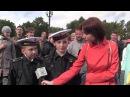 Юные морские кадеты на присяге в Кронштадте рассказали, почему выбрали российск...